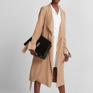 NEW EXPRESS $148 R29 EDITOR PICK CAMEL BROWN SOFT